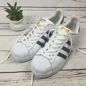 Adidas Superstar Sneakers, Size 10